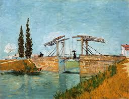 the langlois bridge at arles vincent van gogh