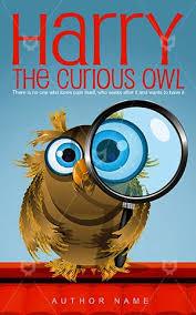 children book cover harry kids owl