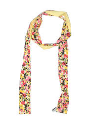 Details About Ann Taylor Loft Women Yellow Scarf One Size