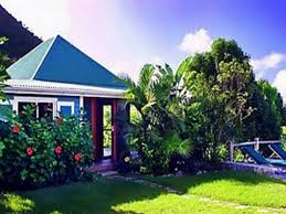 Small Picture House With Guest And Swimming Pool Tropical Garden In A Dream