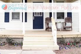 diy curb appeal porch front