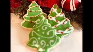 Sugar Cookie Tree Designs Decorate Christmas Tree Sugar Cookies With Royal Icing