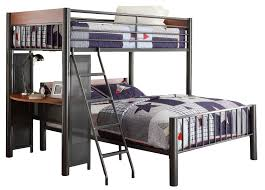 Twyla Twin over Full L-Shaped Bunk Bed & Reviews | AllModern