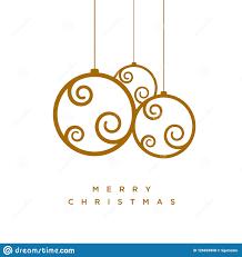 Vector Christmas Greeting Card Design Stock Vector