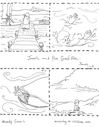 Adult Jonah And The Big Fish Coloring Page Jonah And The Whale