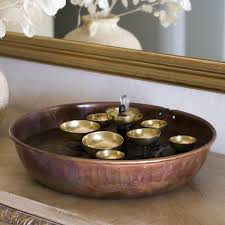 table water fountain. woodstock water bell tabletop indoor/outdoor fountain | hayneedle table b