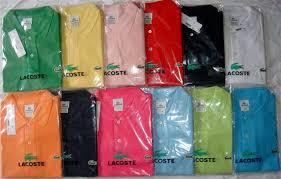 Lacoste Polo Shirt Color Chart Women Lacoste Polo Shirts