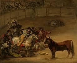 bullfight suerte de varas spanish 1824 93 pa 1 artist