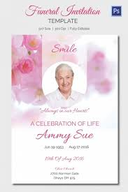 Funeral Invitation Template Gorgeous Funeral Invitation Template Free TvorzaspCom