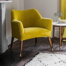 yellow velvet chair astoria chair in mustard yellow velvet with brass caps green velvet dining nkkovmi
