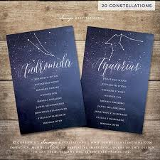 Galaxy Seating Chart Constellation Stars Seating Chart Galaxy Starry Night Celestial Cosmos Wedding Seating Chart Navy Blue Silver White Wedding Printable 20
