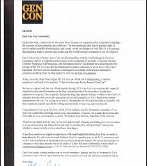 Gen Con Ceo Releases New Letter For Attendees | Ddo Players