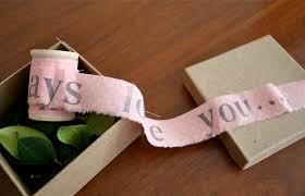 unraveling a letter diy