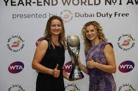 Krejcikova and Siniakova secure 2018 WTA Year-End World No.1 Doubles ranking