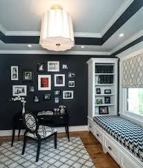 home office light fixtures. Stunning Traditional Home Office Design With Window Seat Ceiling Modern Light Fixtures T