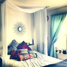 sheer curtains for canopy bed – House Examples Simple Creator