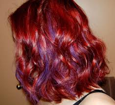 Bright Red Violet Hair Google Search