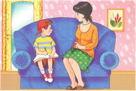Картинки по запросу клип арт разговор родителей с ребенком