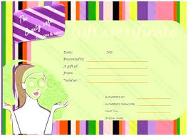 Office Certificate Templates Free Health Beauty Gift Word Publisher