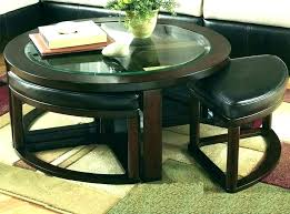 coffee table with seats table with stools underneath round coffee within seats idea 5 coffee table