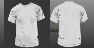 T Shirt Template Vector Free Vector In Adobe Illustrator Ai Ai