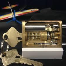 schlage primus locks. Schlage Primus Pad Lock Cut-Away Locks E