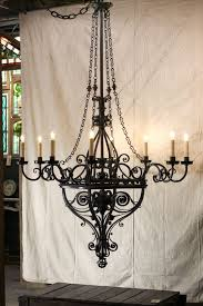 french wrought iron light fixture a11788