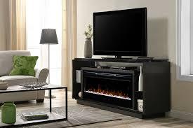david electric fireplace media console w acrylic ice in smoke gds50g5 1592sm