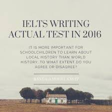 ielts writing actual test in band model essay topic  ielts writing actual test in jan 2016 band 9 0 model essay topic education for children