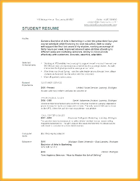 Resume College Graduate No Experience With Freshman Examples Resumes