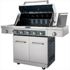 Unique Kitchenaid 5 Burner Gas Grill Stainless Steel Propane Detail And Inspiration Decorating