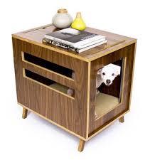 modern dog furniture. Dwell Dog Crate // Mid Century Modern Pet Furniture House