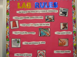 computer lab bulletin board ideas for elementary students. Lab Rules Computer Bulletin Board Ideas For Elementary Students A