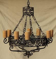 rustic chandeliers made in mexico furniture handforged wrought iron chandelier for your