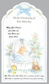 baptism cards card christening boy