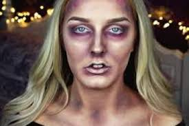 zombie makeup tutorial easy for