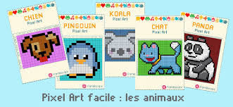 The implementation is purely in python and instructions are given below. Animaux Mignons Et Faciles En Pixel Art