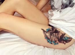 тату на бедре татуировки 23 фото