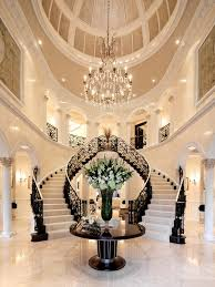 home decorating ideas 2016 luxury chandeliers trends grand double staircase home inspiration ideas