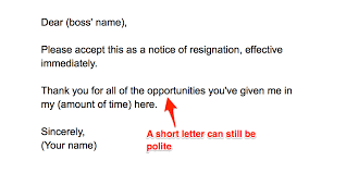 Resignation From The Company How To Write A Resignation Letter Without Burning Bridges