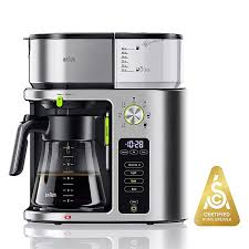 This coffee maker ensures all 10 cups are ready to go before you are. Braun 10 Cup Multiserve Coffee Maker In Stainless Steel Black Bed Bath Beyond