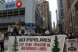 Canada indigenous land resource extraction corruption violence sovereignty police military