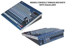 yamaha mixer. mixer yamaha mg16/6fx