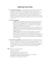 gilded age essay outline asc