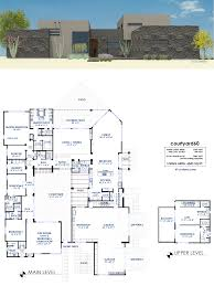 courtyard60 luxury modern house plan