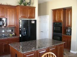 black kitchen cabinets with black appliances photo 3