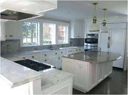 granite kitchen countertops with white cabinets. Granite Kitchen Countertops Grey White And Cabinets Modern Home With