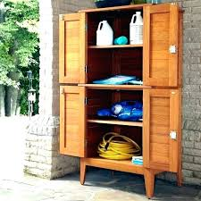 pecos tall garden storage cabinet outdoor full size of wood narrow t
