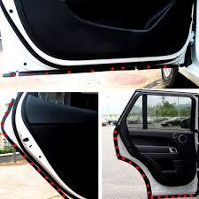 4m p shape car truck door rubber seal strip weather strip air seals hollow black