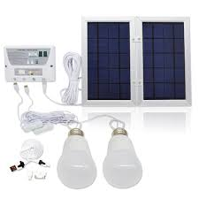 Amazoncom  6W Panel Foldable HKYH Solar Mobile Light System Solar Powered Lighting Kits